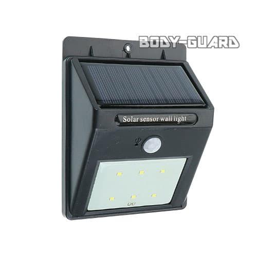 人感センサーライト ソーラー充電式
