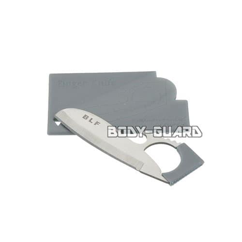 カード型 アウトドアツール シルバー