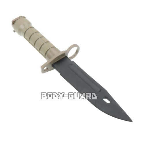 ラバー製 トレーニングナイフ ベージュ