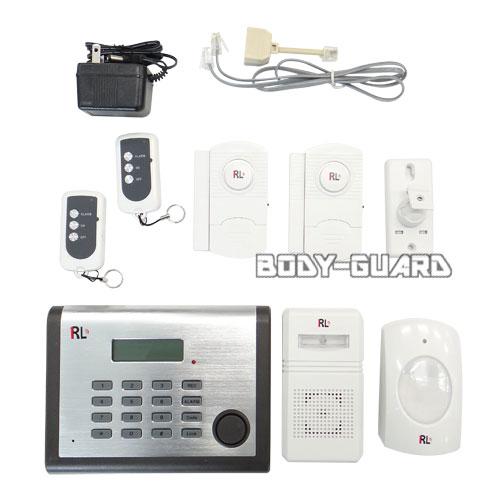 RL ホームセキュリティー 自動ダイヤル式 ワイヤレスアラーム1台