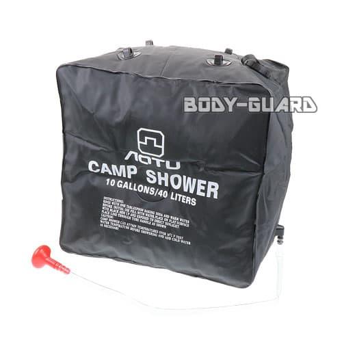 ウオータータンク 簡易シャワー 40リットル AT6636