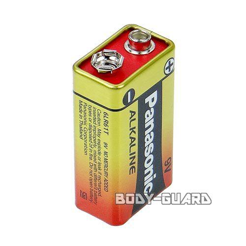 パナソニック アルカリ電池 9V 6LR61T