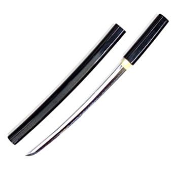 【小刀】 尾形刀剣 日本刀  白鞘黒呂