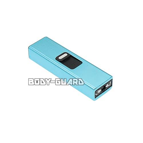 USBメモリ型スタンガン タイプ2 充電式 ブルー