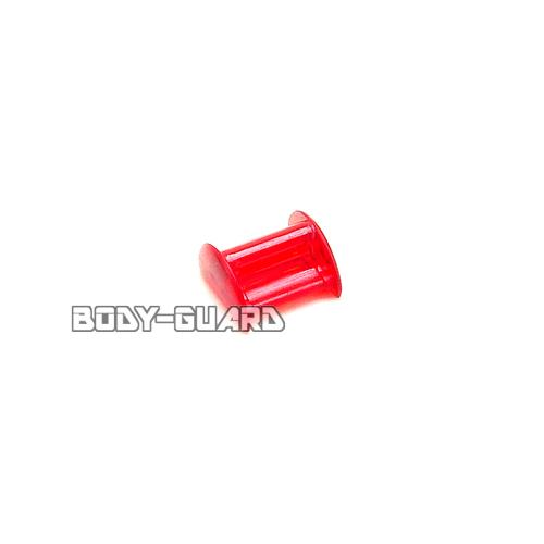 ファルコン カラーロッキングクリップ2個 (着せ替えゴム止め)  レッド