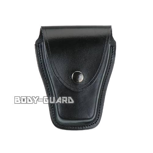ユイル L-1 手錠ケース 合皮 ブラック ホック式