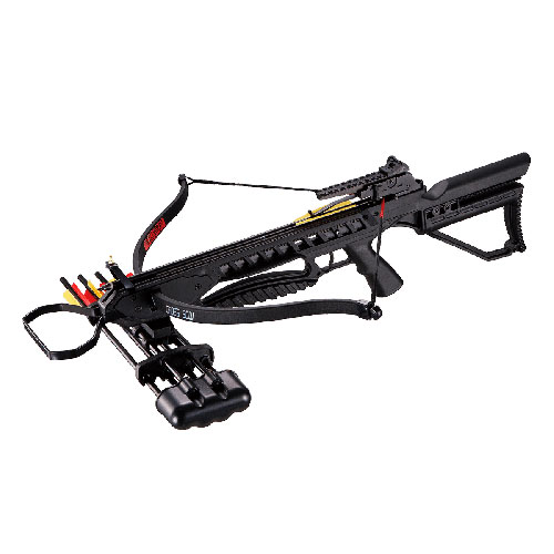 ManKung社製 リカーブクロスボウ Rip-Claw ブラック 175ポンド 245FPS