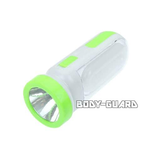 ソーラー充電式 2WAY ライト 掛け型 グリーン