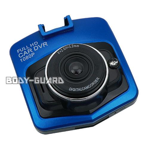 Vehicle Blackbox ドライブレコーダー コンパクト型 ブルー