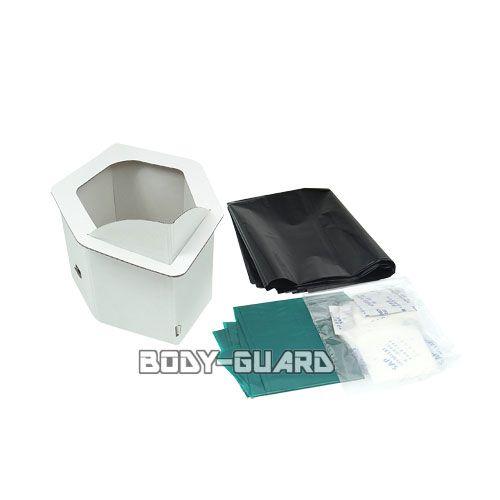 携帯 非常用トイレ 組み立て式 小便用 3回分セット