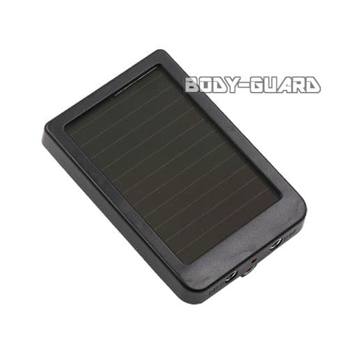 トレイルカメラ専用バッテリー ソーラー充電式