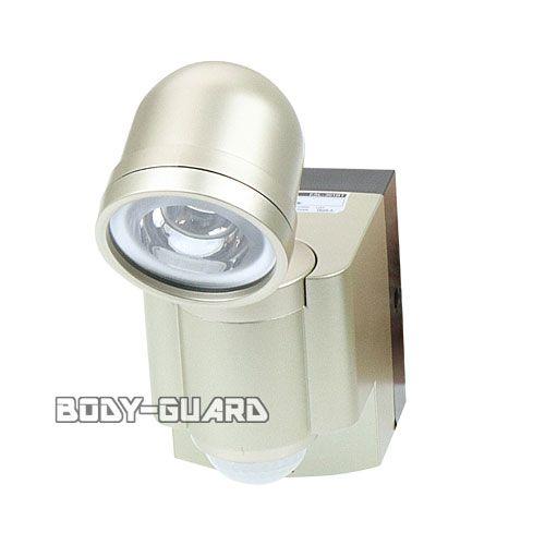防雨 LEDセンサーライト ◯1灯 乾電池式 ESL-301BT ★ワイヤレスチャイム増設可能