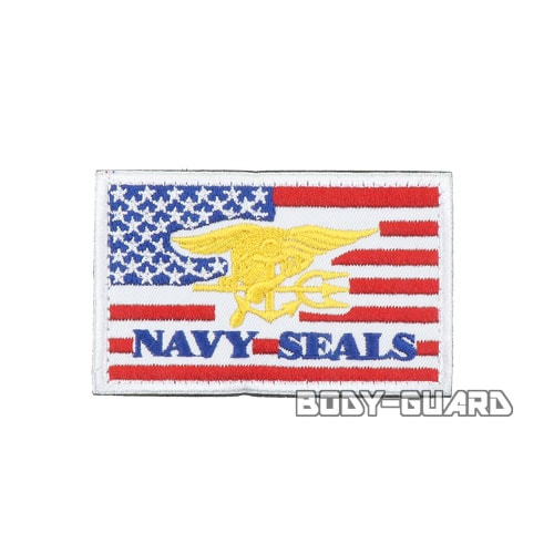 NAVY SEALS ワッペン レッド
