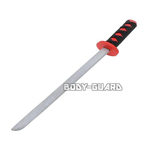 模造木刀 紐巻き レッド
