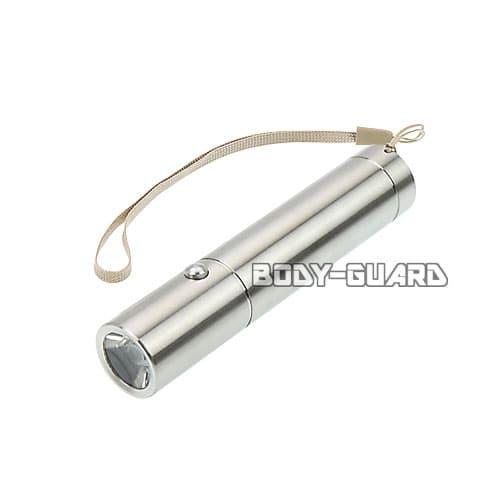 ステンレス製 LEDライト コンパクト シルバー
