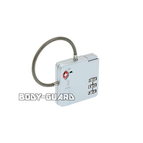 TSAロック ワイヤータイプ TSA-529 シルバー