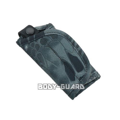 キーケース クリプテック迷彩柄 ブラック
