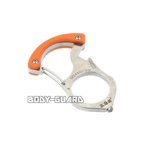 カラビナ型ガラス割りツール SKO45GJ オレンジ