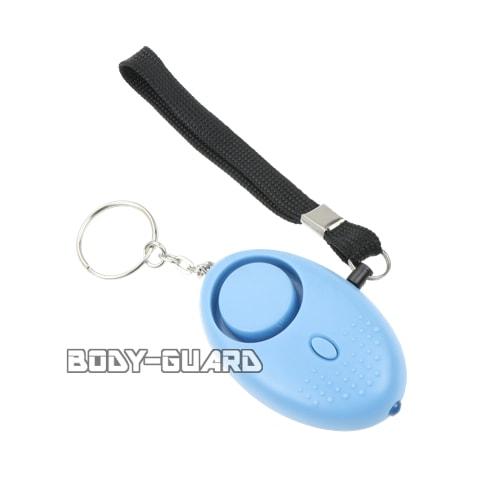 ライト付き防犯ブザー L002 ブルー