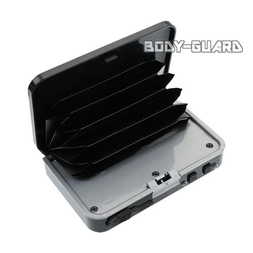カードケース型スタンガン 充電式 ブラック