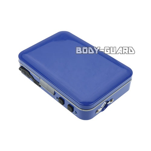 カードケース型スタンガン 充電式 ブルー