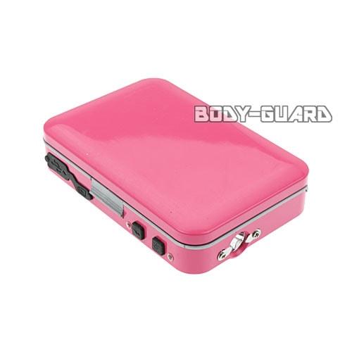 カードケース型スタンガン 充電式 ピンク