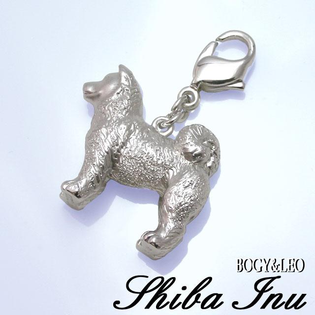柴犬モチーフのシルバーアクセサリー シルバーリアルチャーム
