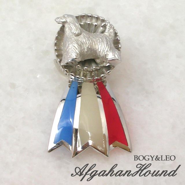 アフガンハウンド犬のロゼット