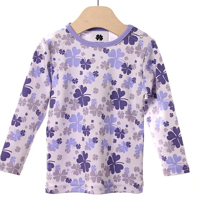 【在庫処分セール50%OFF】(春夏)HOLLY'S Camouflage Clover Jersey Tシャツ ラベンダー 12M/80cm