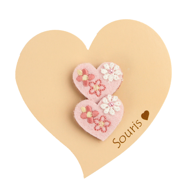 Souris(スーリー) ハートマジックポニー2個セット ピンク F     【おまかせ配送で送料お得】◆