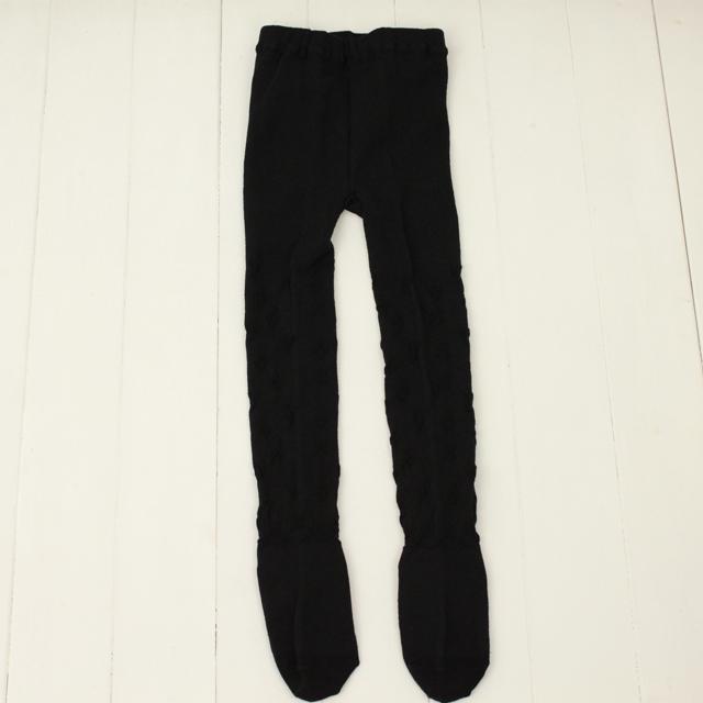 【セール10%OFF】Souris(スーリー) タイツ ブラック 105cm 120cm 135cm