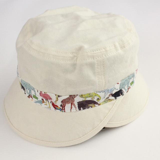 【セール10%OFF】Sense of Wonder(センスオブワンダー) QueuefortheZooリバーシブル帽 ECRU 48cm 52cm    【おまかせ配送で送料お得】