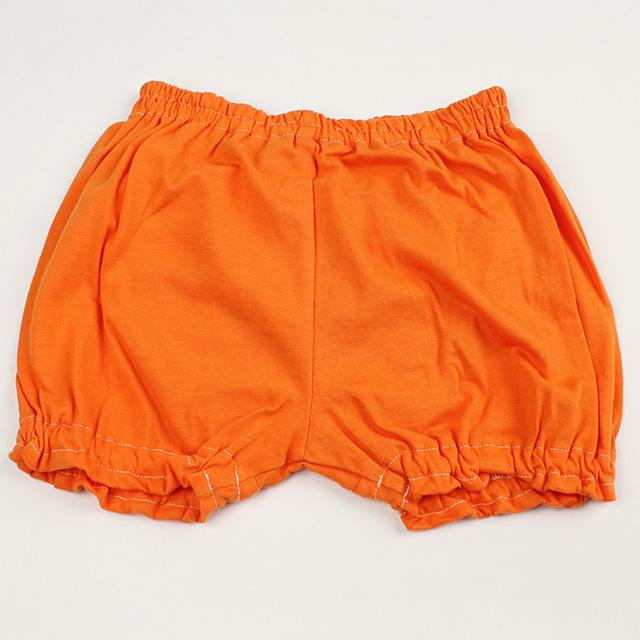 【在庫処分セール50%OFF】oilily(オイリリー) フリルブルマ オレンジ 80cm     【おまかせ配送で送料お得】