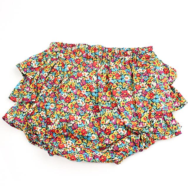 mimi poupons.(ミミプポン) お花柄フリルパンツ リバティ・アリスビクトリア  70cm-90cm 【おまかせ配送で送料お得】◆