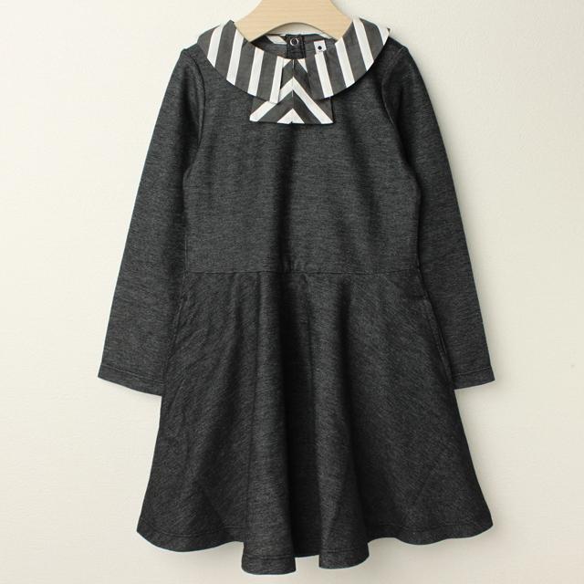【セール30%OFF】maarook(マルーク) フロートインレイワンピース ブラック 110cm 120cm    【送料無料】