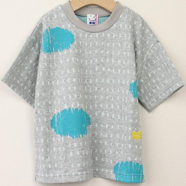 【セール20%OFF】MoL(モル) ミズタマリTシャツ グレー 100cm 110cm    【おまかせ配送で送料お得】