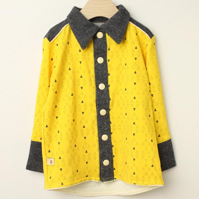 【在庫処分セール50%OFF】(秋冬)AlbaBaby(アルバベイビー) Fililon Shirts長袖シャツ イエロー 98cm 110cm