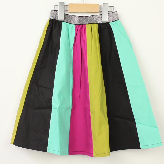 【2018年秋冬新作】UNICA(ユニカ) 色とりどりスカート ミント 120cm 130cm 140cm   【送料無料】