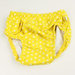 【在庫処分セール50%OFF】(春夏)HOLLY'S(ホリーズ) 水着パンツ赤ちゃん用 黄色 80cm 92cm    【おまかせ配送で送料お得】