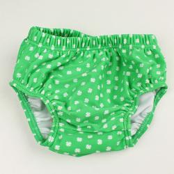 【在庫処分セール50%OFF】(春夏)HOLLY'S(ホリーズ) 水着パンツ赤ちゃん用 緑 80cm  92cm    【おまかせ配送で送料お得】
