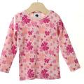 【在庫処分セール50%OFF】(春夏)HOLLY'S Camouflage Clover Jersey Tシャツ ピンク 12M/80cm