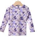 【在庫処分セール50%OFF】(春夏)HOLLY'S Camouflage Clover Jersey Tシャツ ラベンダー 24M/92cm