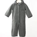 【在庫処分セール50%OFF】HOLLY'S  Baby suit ベビースーツ グレー 80cm/12M(1才)