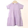【在庫処分セール50%OFF】(春夏)HOLLY'S Tiny Clover Jersey ドレス ラベンダー/パープル 6M/68cm