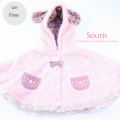 【2021awご予約商品】Souris(スーリー) 【842】両面フリース マント \4,900 Free