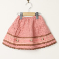 【在庫処分セール50%OFF】Souris(スーリー) 水玉ドビースカート ピンク 90cm