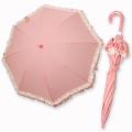 Souris(スーリー) レース傘 濃ピンク 40cm 45cm 50cm◆