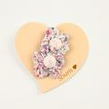 Souris(スーリー) 花柄フラワーマジックポニー2個セット ピンク FREE     【おまかせ配送で送料お得】◆