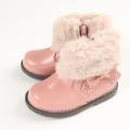 【セール20%OFF】Souris(スーリー) 合皮ブーツ ピンク 13cm 14cm 15cm 16cm 17cm 18cm