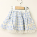 【セール10%OFF】Souris(スーリー) リバーシブルスカート ブルー 90cm 95cm 100cm  110cm 120cm 130cm 140cm